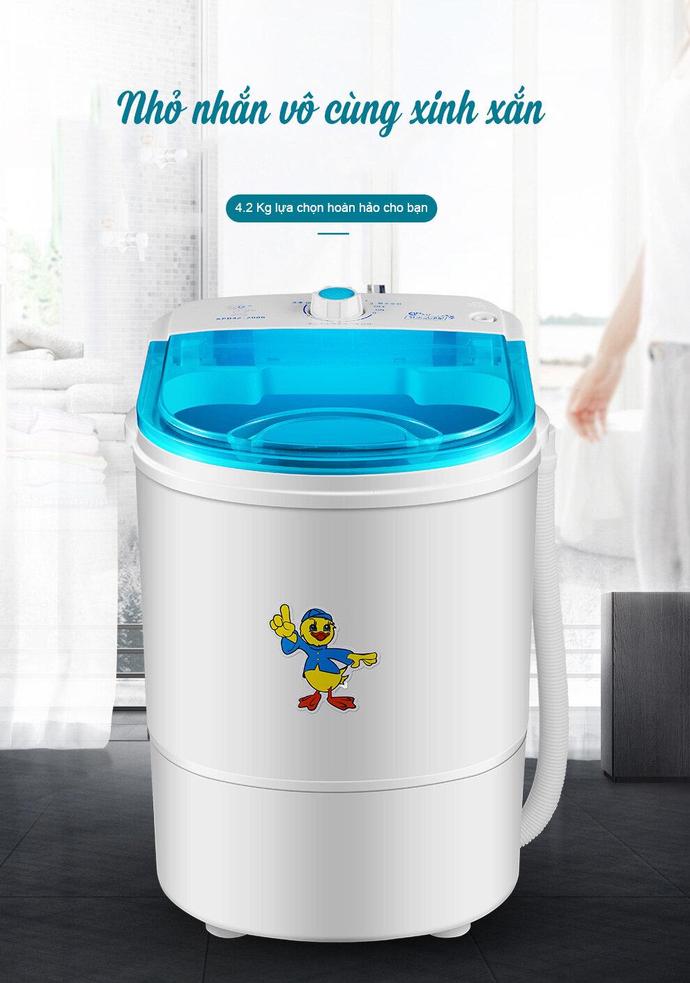 Máy giặt hai lồng mini 4kg