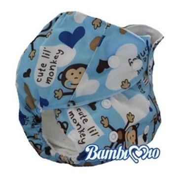 Tã vải Blue Monkey Bambi Mio (3kg - 16kg)