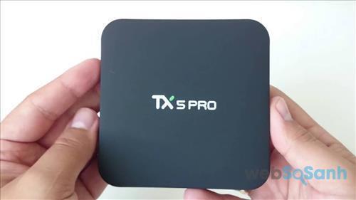 TX5 Pro là Android tivi box có thiết kế nhỏ gọn nhưng cấu hình mạnh mẽ