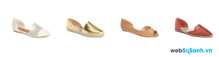 5 kiểu giày dép không thể thiếu cho các cô nàng vào mùa hè