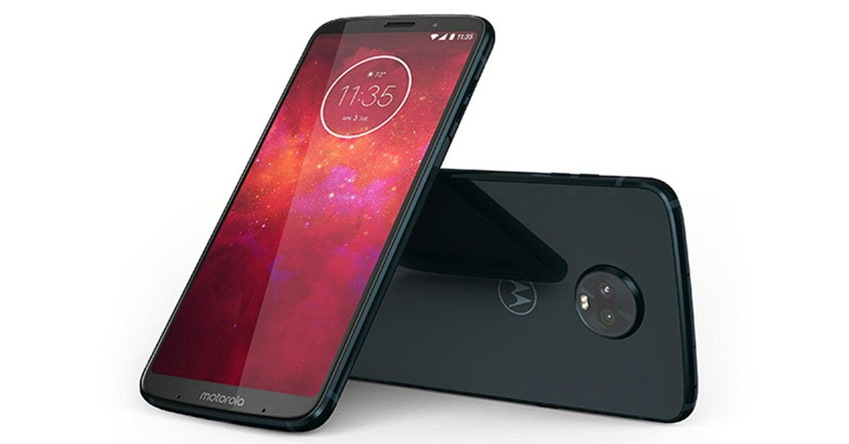Ra mắt smartphone 5G Motorola Moto Z3 khiến iPhone X lo sợ