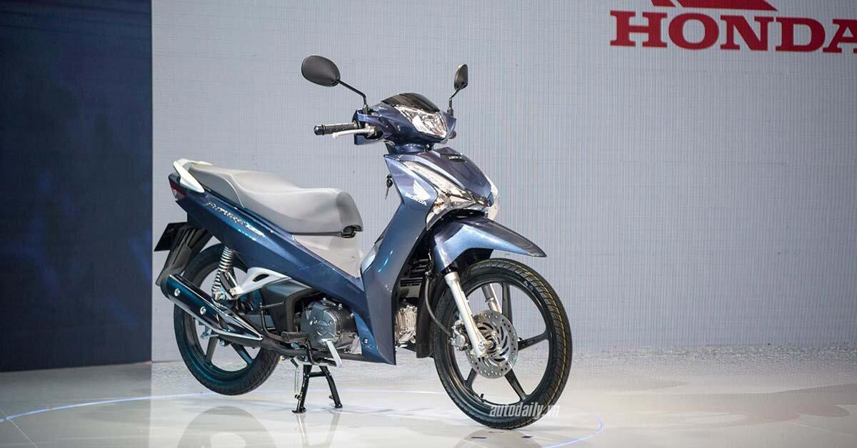 Ra mắt xe máy Honda Future 2018 mạnh mẽ hơn, thiết kế chất hơn