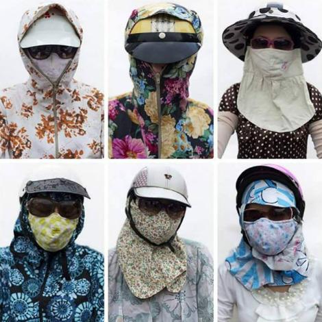 """sắc màu phụ nữ """"ninja"""" thời hiện đại"""