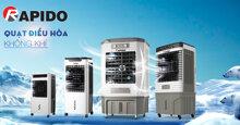 Rapido chính thức ra mắt dòng quạt điều hòa 2020 thế hệ mới với 3 chức năng trong 1