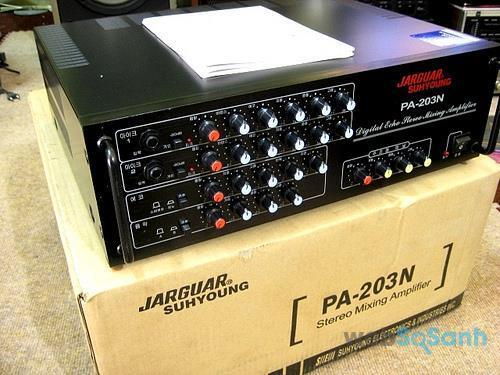 Amply karaoke Jarguar 203N chính hãng