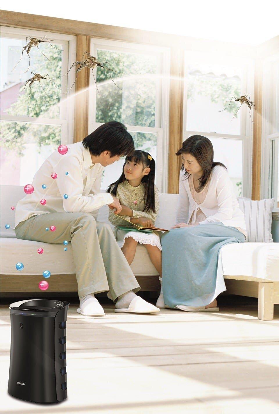 Với công nghệ phát ion âm, máy lọc không khí giúp sức khỏe người dùng tốt hơn