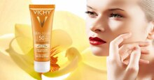 Review 3 dòng kem chống nắng Vichy dành cho da dầu và hỗn hợp