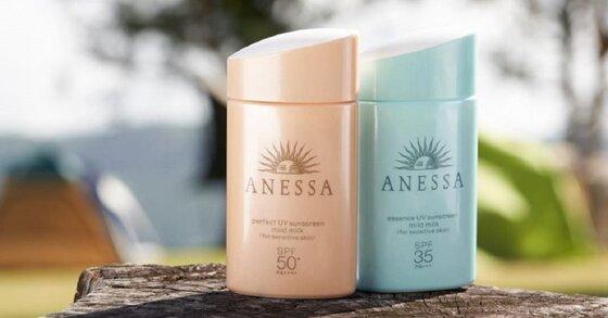 Review 3 sản phẩm kem chống nắng anessa cho da dầu