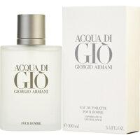 Review Acqua Di Gio For Men EDT – chai nước hoa mang phong cách nam tính, cuốn hút và mạnh mẽ