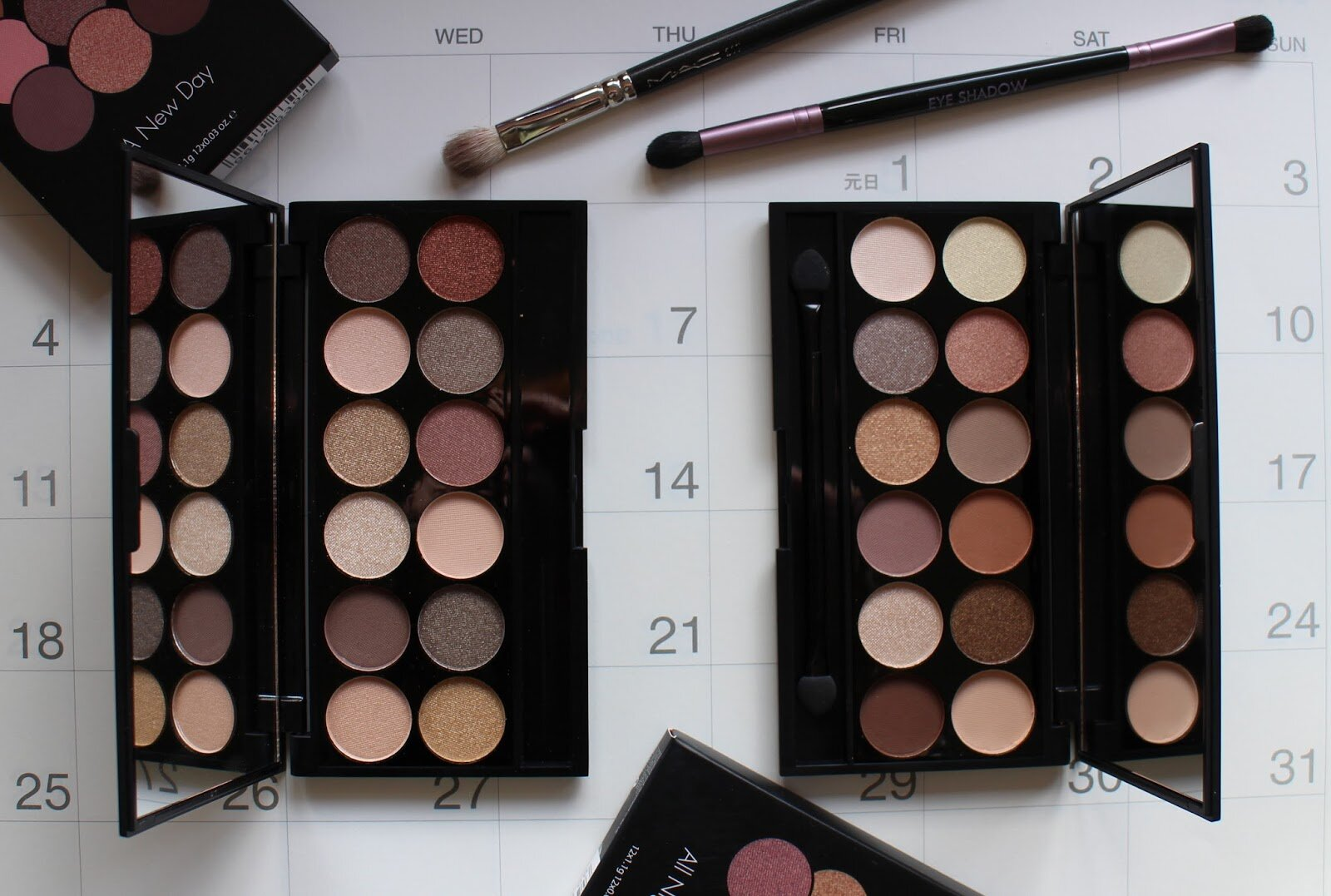 Review bảng phấn mắt giá rẻ SLEEK I-DIVINE PALETTES – A new day & All Night long
