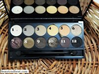 Review bảng phấn mắt giá rẻ Sleek Makeup Au Naturel I-Divine