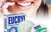 Review bột tẩy trắng răng Eucryl có tốt không, chi phí, cách sử dụng