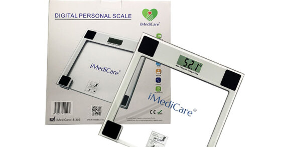 Review cân điện tử iMediCare IS-303 có tốt không, giá bán, mua ở đâu?