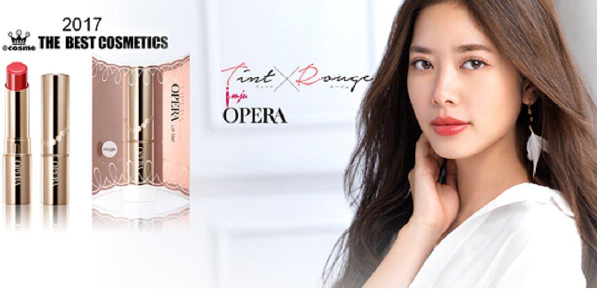 Review cây son HOT nhất ở Nhật hiện nay – Opera Tint Oil Rouge Lip Tint