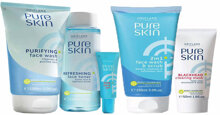 Review chi tiết về dòng sữa rửa mặt Pure Skin nên sử dụng
