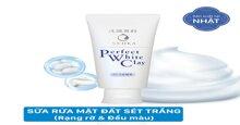 Review chi tiết về sữa rửa mặt Perfect White Clay đến từ Nhật