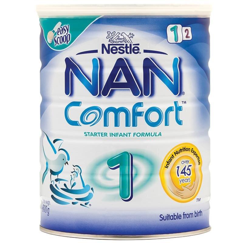 Review của người dùng về sữa bột cho trẻ NAN Comfort 1