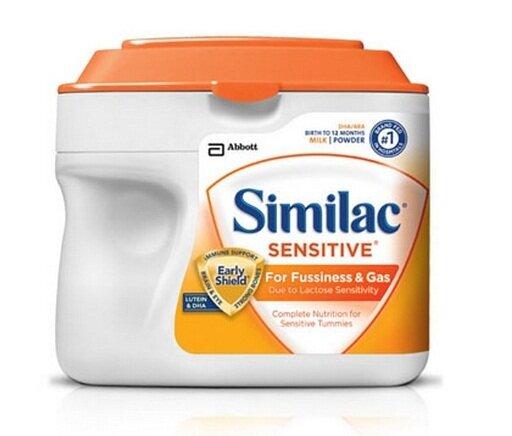 Review của người dùng về sữa công thức Similac Sensitive dành cho trẻ đầy hơi và nôn trớ