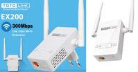 Review đánh giá bộ mở rộng sóng Wifi TOTOLINK EX200 - rất đáng đồng tiền bát gạo