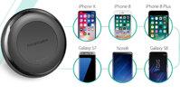 Review đế sạc không dây cho iPhone X / 8 / 8 Plus RAVPower PC058 - Rút ngắn thời gian sạc pin cho iPhone