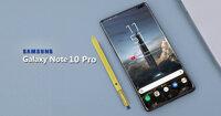 Review điện thoại màn hình 6.8 inch Samsung Galaxy Note 10 Pro