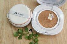 Review Ecosy Nature CC Cushion The Collagen – dòng phấn nước giàu ẩm dành cho mùa đông hanh khô