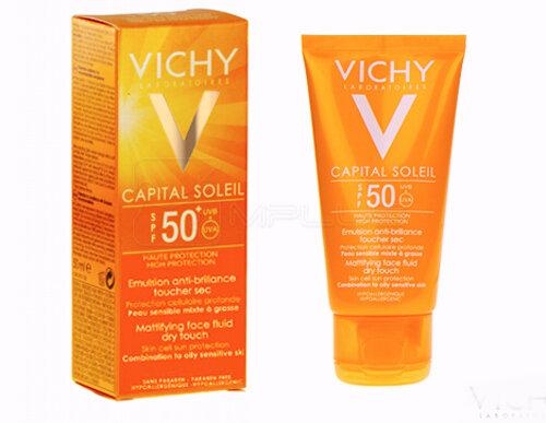 Review kem chống nắng cho da nhờn mụn Vichy Ideal Soleil SPF 50