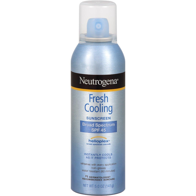 Review kem chống nắng dạng xịt Neutrogena Ultra Sheer Body Mist sunscreen SPF 45