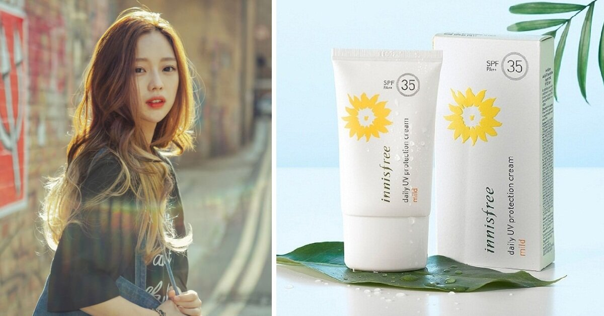 Review kem chống nắng hằng ngày Innisfree Daily UV Protection Cream Mild SPF 35 PA++