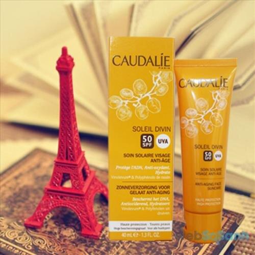 Review kem chống nắng ngăn ngừa lão hóa Caudalie Soleil Divin Anti-Ageing SPF 50+