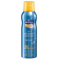 Review kem chống nắng Nivea dạng xịt Nivea Sun Protect & Refresh Sun Spray SPF50