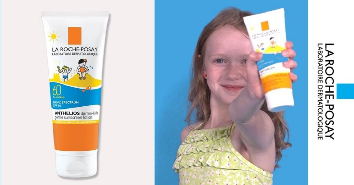 Review kem chống nắng trẻ em La Roche-Posay Anthelios Dermo Kid SPF60