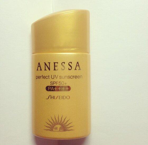Review kem chống nắng  Shiseido Anessa Perfect UV sunscreen SPF 50 PA +++