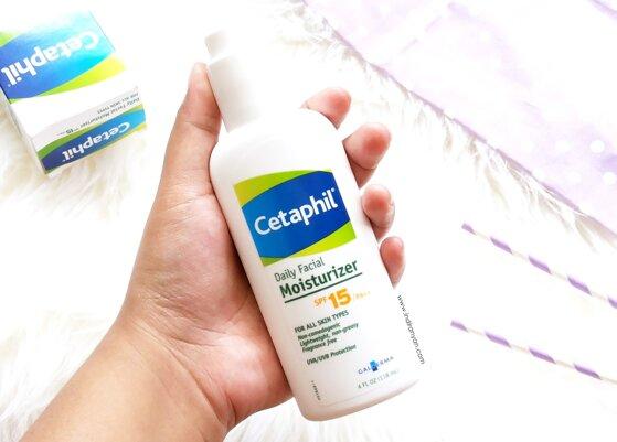 Review kem dưỡng chống nắng Cetaphil Daily Facial Moisturizing