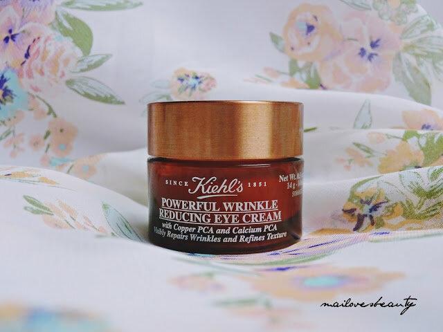 Review kem dưỡng chống nhăn vùng mắt Keihl's Powerful Wrinkle Reducing