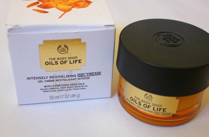 Review kem dưỡng da chống lão hóa The Body Shop Oils of Life Intensely Revitalizing Cream
