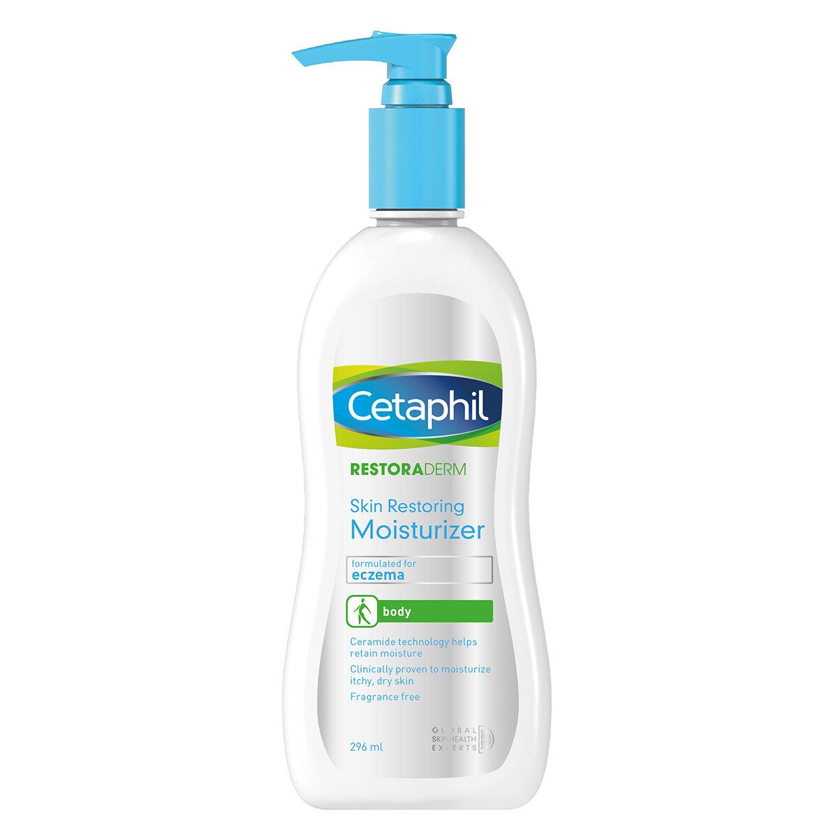 Review kem dưỡng điều trị viêm da Cetaphil Restoraderm  Eczema Skin Restoring Moisturizer