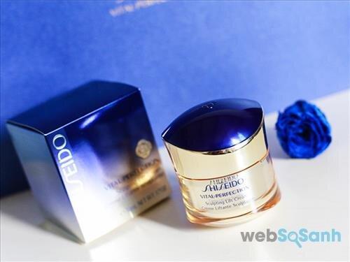 Review kem dưỡng Shiseido Vital Perfection Sculpting Lift Cream dành cho tuổi 25