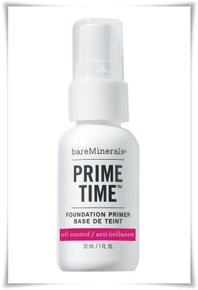 Review kem lót BareMinerals Prime Time Oil Control Foundation Primer