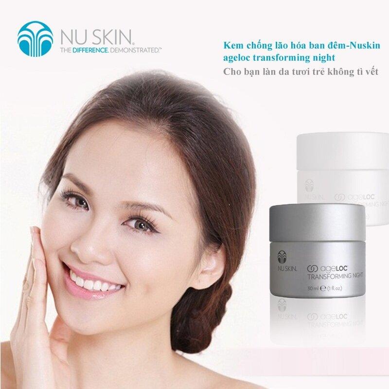 Review kem mắt đêm chống lão hóa ageLOC Transforming Night của Nuskin