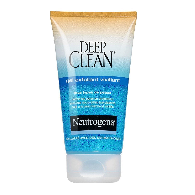 Review kem tẩy da chết dạng gel Neutrogena Deep Clean Gentle Scrub