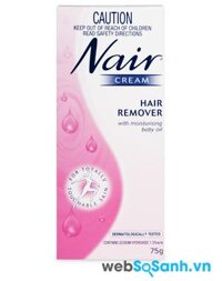 Review kem tẩy lông Nair Cream Hair Remover