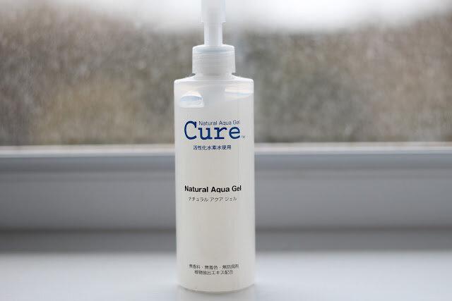 Review kem tẩy tế bào chết Nhật Bản Cure natural aqua gel