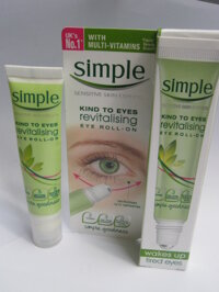 Review lăn dưỡng mắt Simple Kind To Eyes Revitalising Eye Roll On
