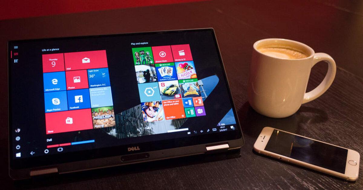Review laptop doanh nhân Dell XPS 13 9365