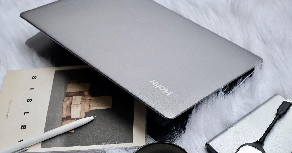 """Review laptop Haier S1: """"tân binh"""" đỏm dáng của làng laptop Việt"""