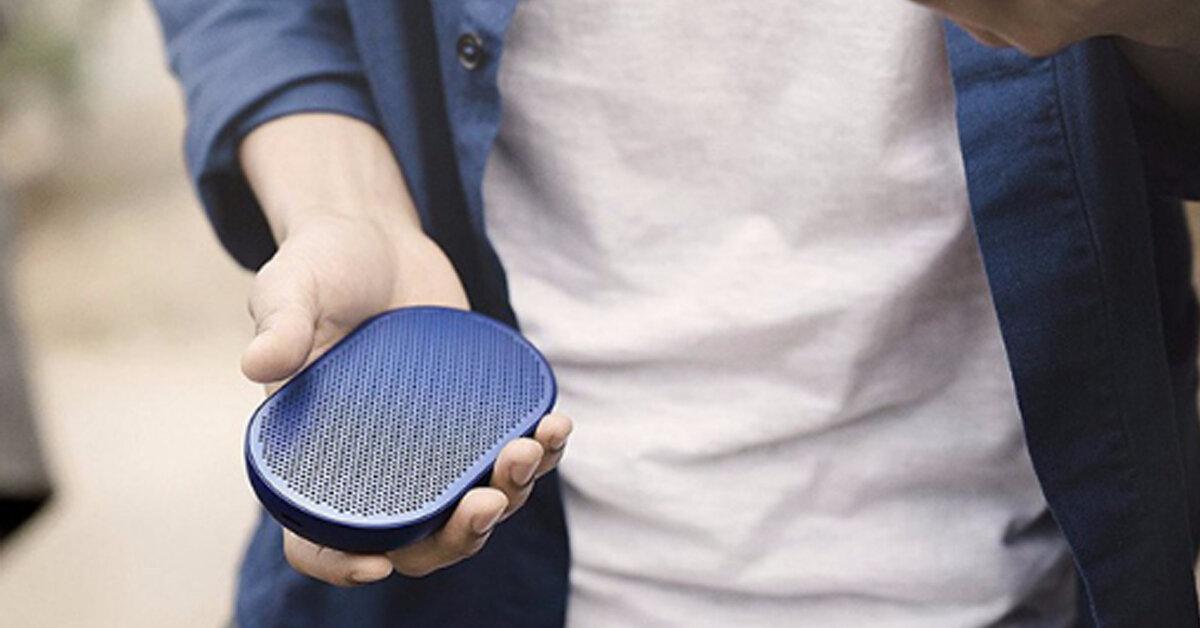 Review Loa Bluetooth nhỏ gọn tốt nhất B&O Beoplay P2 – Thỏa sức nghe nhạc, mặc kệ gió mưa