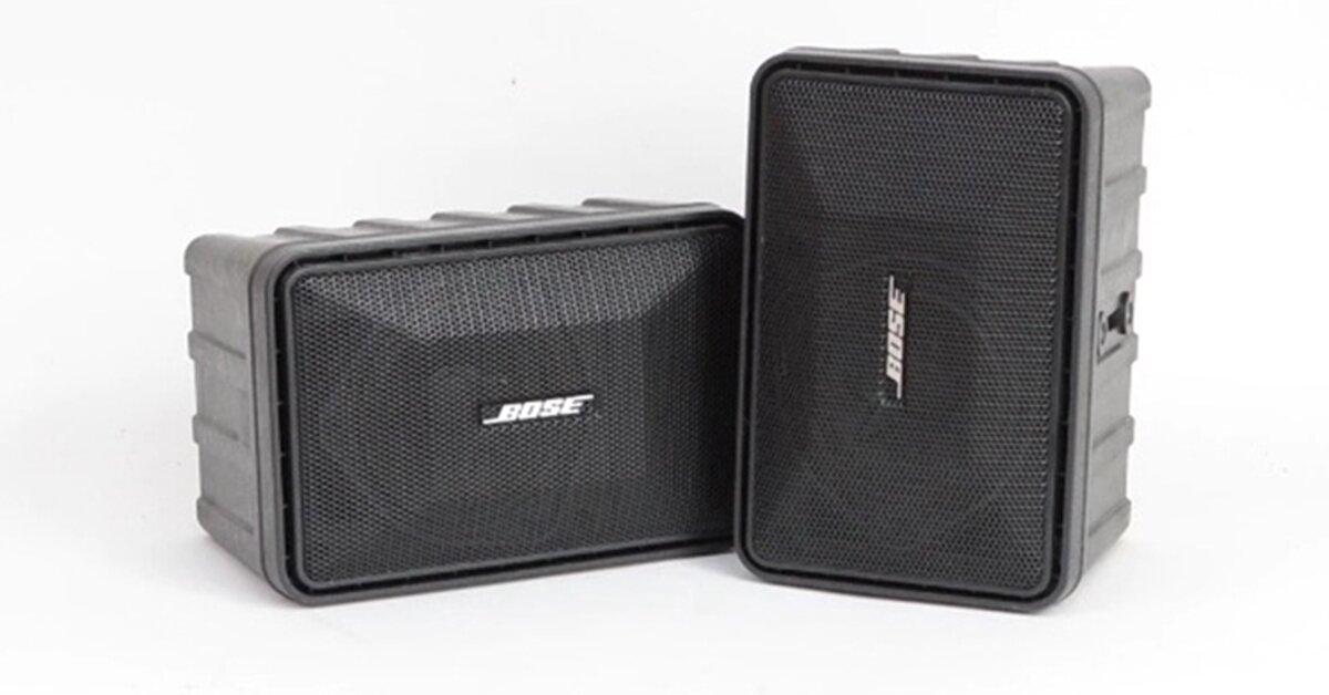 Review Loa Bose 101: Thiết bị âm thanh chuyên nghiệp, chất lượng cao của Mỹ
