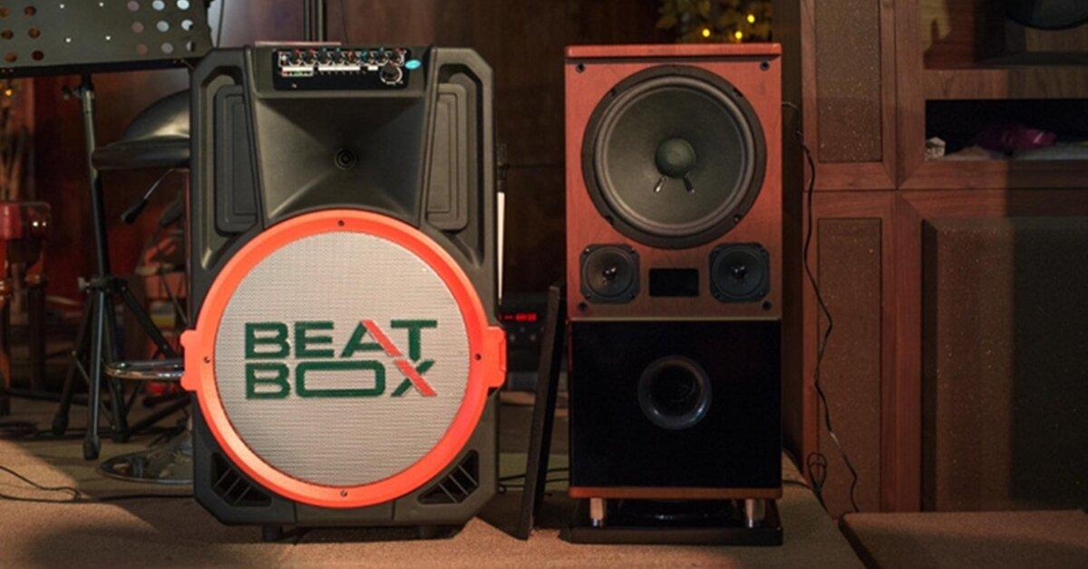 Review loa kéo di động tầm trung Acnos Beatbox KB-39