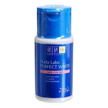 Review lotion dưỡng trắng Hada Labo Perfect White